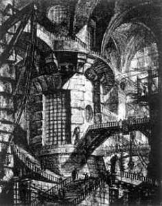 prison piranese