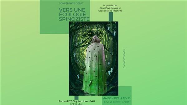 Conférence-débat : vers une écologie spinoziste